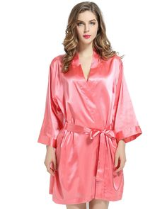 f0ca5fc680 Bridal Party Silk Robe Bridesmaid Robes, Gifts For Wedding Party, Satin  Fabric, Maid