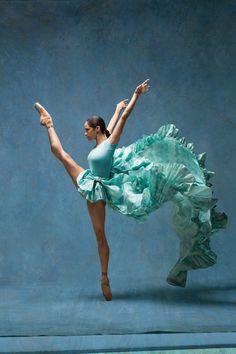 Misty Copeland and Degas: Art of Dance - HarpersBAZAAR.com #Misty