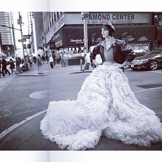 Giambattista Valli Haute Couture 7 top and skirt in the November 2014 issue of @vogueparis