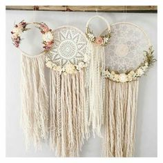 Lacey shabby chic dream catchers