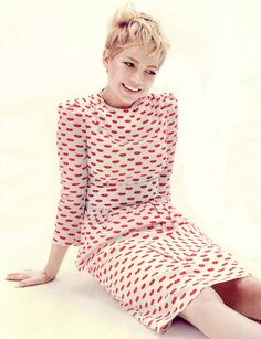 ♥ Michelle Williams - Elle UK by Alexei Hay, fashion by Leith Clark, December 2011