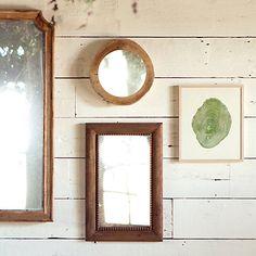 Tree Trunk Mirror