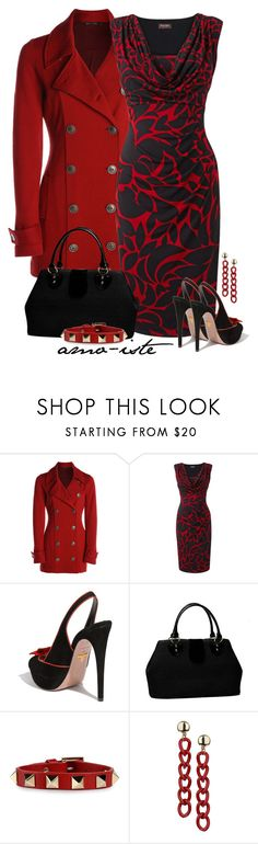 """""""Phase 8 Dress"""" by amo-iste ❤ liked on Polyvore featuring NIC+ZOE, Phase Eight, Prada, Valentino and Topshop"""