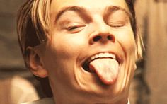Or that time his tongue had a mind of its own.   Community Post: 15 Times Leonardo DiCaprio Completely Lost It