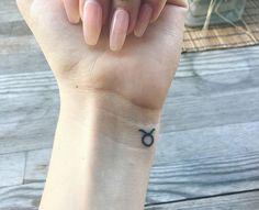Taurus wrist tattoo ❤️