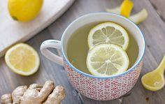 Té de jengibre limón Receta de desintoxicación de su cuerpo y deshacerse de la hinchazón - Vida y Cuerpo Sano