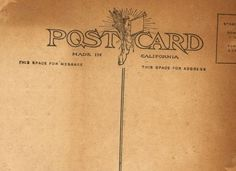 Quick summary of postal rules/guidelines for making your own postcards, with link to actual USPS rules.
