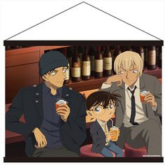CDJapan : Case Closed (Detective Conan) Tapestry Design C Collectible