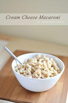Cream Cheese Macaroni - So simple and delicious!