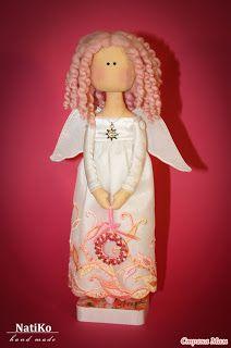 Mimin Dolls: uma linda anjinha rosa
