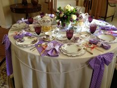 Tea Party Tablescape from MakeItDelightful.com