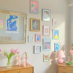 Dream Apartment, Apartment Interior, Room Ideas Bedroom, Bedroom Decor, Pastel Room, Cute Room Decor, Aesthetic Room Decor, Dream Decor, Cool Rooms