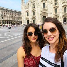 So I guess we're in Milan? @mararklein #duomo #espressooo #thatsabigolechurch