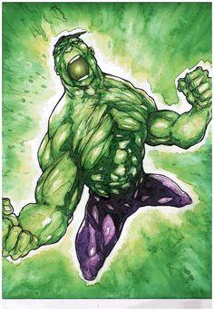 #Hulk #Fan #Art. (Hulk) By: Toph1971. ÅWESOMENESS!!!™ ÅÅÅ+