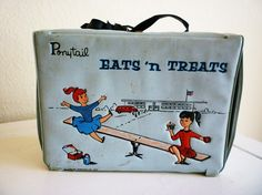 Vintage Ponytail Eats 'n Treats Vinyl Lunchbox