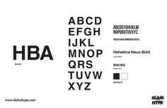Fashion typefaces don't stray far from Helvetica. Fashion Typography, Typography Logo, Typography Design, Lettering, Fashion Fonts, Fashion Brands, Logo Word, Helvetica Neue, Fashion Design Portfolio