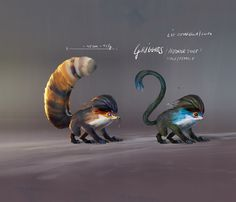 ArtStation - Creature Design - Griggies, Lip Comarella