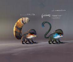 Creature Design - Griggies, Lip Comarella