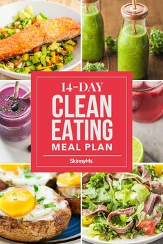 Tired of feeling bloated and sluggish? Reset Your body with this clean eating meal plan. It's full of energizing, nutritious, and delicious foods! Clean Eating Slow Cooker Recipe, Clean Eating Recipes For Dinner, Clean Eating Meal Plan, Healthy Breakfast Recipes, Clean Eating Snacks, Healthy Snacks, Healthy Recipes, Skinny Recipes, Healthy Eating Habits