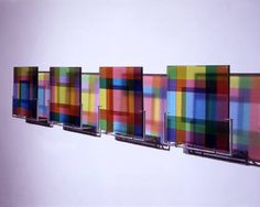 Dorothy Hafner Colourways Wall Installation