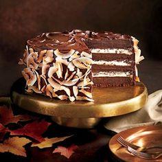 Chocolate-Coconut Layer Cake | MyRecipes.com