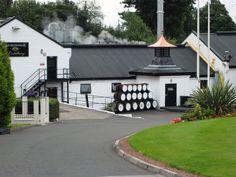 Auchentoshan Distillery, Glasgow, traditional Scottish whisky distillery
