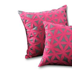 Find it at the Foundary - Pink Petals Silk Throw Pillow