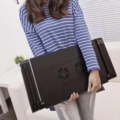 Portable Laptop Notebook Table Tray