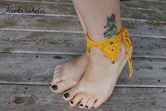Ravelry: Bermuda Triangle Ankle Cuff pattern by Shannon Kilmartin/The Hookeraholic Crochet