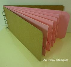 The perfect color for a #breastcancer themed #chipboard #album.