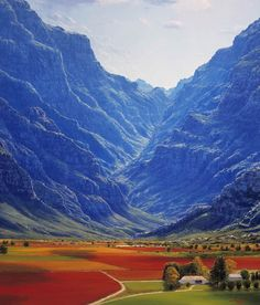 Hex River Valley, Western Cape, South Africa | Please like, share, or repin…