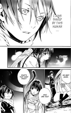 Read manga Noragami 002 online in high quality