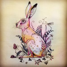 Hare design We digitally print onto fabric for you to paint and embroider. The post Hare design appeared first on Home.