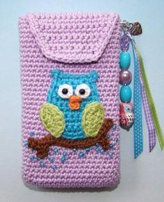 owl cell phone holder
