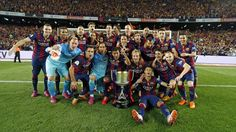 La celebración de los campeones de Copa en el Camp Nou | FC Barcelona