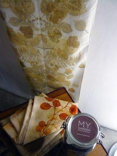 M.Y. garden | Youliana Manoleva | Works - #silk #ecoprint #tintesnaturales…