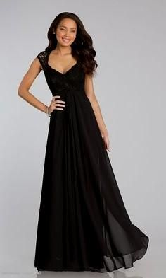 Stock Pink/Black Lace Evening Bridesmaid Prom Formal Dresses Size6 ...