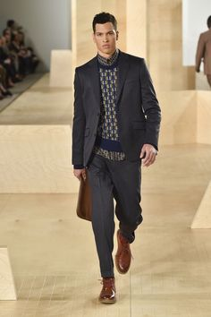 Perry Ellis Menswear Fall Winter 2016 New York