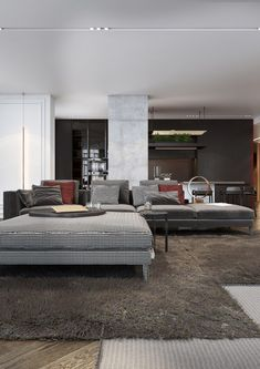 Repin: Luxurious Apartment Redefines The Term U0027Urban Jungleu0027 Great Theme,  Similar Look To Our Contemporary Styles ! | DECORATE | Pinterest |  Apartments ...
