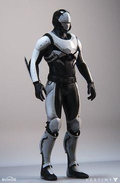 ArtStation - Destiny 2: SwordFlight 4.1 Studio Shots, Mike Jensen Superhero Design, Robot Design, Male Character, Character Design, Character Outfits, Future Concept Cars, Paintball, Cyberpunk Rpg, Android Art