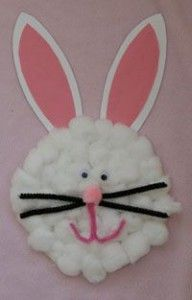 paper plate easter bunny craft idea for kids (3)