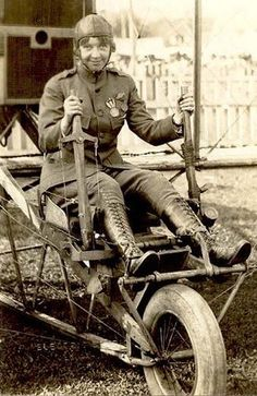 Ruth Law was the first woman authorised to wear a U.S. military uniform, as an enlisted Army NCO pilot, 1917