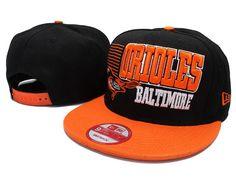 BALTIMORE ORIOLES NEW ERA SNAPBACK HATS - BLACK 376