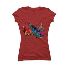Pastel Inspirational T Shirt Womens T Shirt