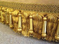 gold boullion fringe
