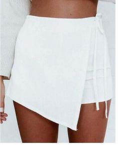 Fashion hot irregular short skirt