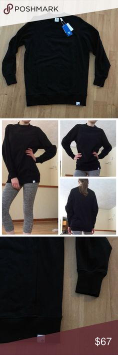New Adidas Black Long Tunic Sweater Size XS✨ ⚜️I love receiving offers through the offer button!⚜️ Brand new condition, as seen in pictures! Fast same or next day shipping!📨 Open to offers but I don't negotiate in the comments so please use the offer button😊 Check out the rest of my closet for more Adidas, Lululemon, Tory Burch, Urban Outfitters, Free People, Anthropologie, Topshop, Asos, Revolve, Zara, and American Apparel! 2.27.79 adidas Sweaters