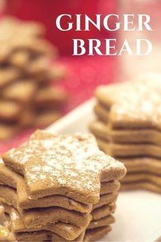 Gingerbread - Biscoito de Gengibre de Natal! Como não adorar o cheirinho do biscoito de gengibre assando?