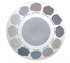 so many good grays and purples #devinecolor #paint #palette