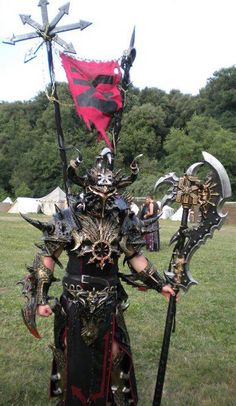 Warrior of Khorne  Francesco Giacomelli —Italian Larper  http://www.facebook.com/francesco.giacomelli.906